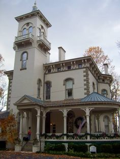PANICd : Paranormal Information : Promont House in Milford, Ohio, has been listed on the National Register of Historic Places since 1980. It is an Italianate Victorian structure, built in 1865 by William Megrue, and purchased in 1879 by John Pattison, who became the 43rd governor of Ohio.