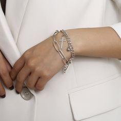 Jewelry ball geometric bracelet female retro religious cross pendant bracelet NHXR189722