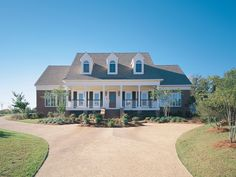 Classic Southern Country Home - plan 020D-0013 - houseplansandmore.com