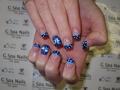 From Nail Design has a very special place in our hearts because of its simplicity and unique nature. Post Nail Design Henderson Ky can be achieved using Latest Nail Designs, Creative Nail Designs, Diy Nail Designs, Creative Nails, Uk Nails, Hair And Nails, Diy Unique Nails, Graduation Nails, College Graduation