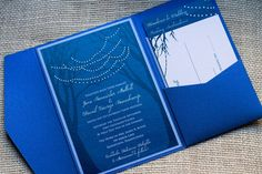 Winter wedding invitation by http://alhdesigns.com