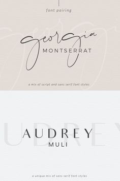 Caligraphy Alphabet Discover Font Pairing April Macarons & Mimosas Choosing the proper font combination will give you a luxurious modern traditional or feminine feel. Montserrat one of my favorite san serif fonts. Free Font Design, Site Web Design, Graphic Design Fonts, Font Free, Logo Fonts Free, Vector Design, Design Design, Handwritten Fonts, Typography Fonts