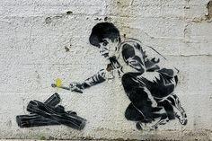 "Blagojevich stencil:  ""Survivor Blago"" by Ray Noland by Andrew Ciscel, via Flickr"
