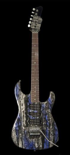 James Tyler Guitars Studio Elite Black & Blue Shmear