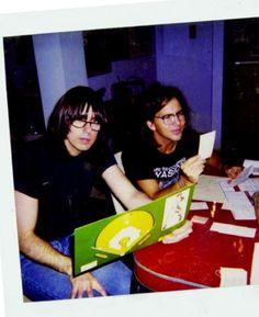 Joey Ramone and Eddie Vedder