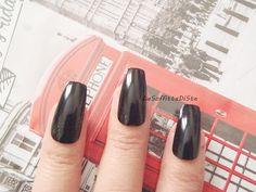 Tavolo nails ~ Toe fake nails glitter blue green false nails tips toenails teal