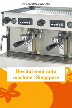 Iberital semi-auto machine | Singapore: Used by Lady M Cafes. Lady M Cafes are situated at 5 different locations in Singapore.I went to their most Instagram able Orchard Central outlet for afternoon tea. They are using a 2 group Iberital semi-auto machine and Mazzer Grinder.