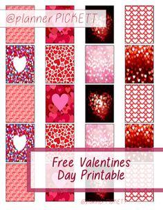 Full Faith: Valentines Day Freebie planner diy sticker printable