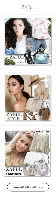 """ZAFUL"" by sneky ❤ liked on Polyvore featuring Shanghai Tang, Clinique, Marc Jacobs, L'ANZA, Balmain, Topshop, Lacoste, Gucci, Bobbi Brown Cosmetics and Versace"