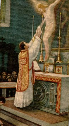 Priest - Eucharist - Christ Upon the Cross