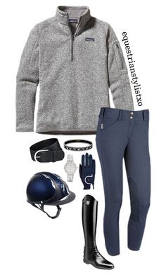 """Preppy in Patagonia"" by adastaley ❤ liked on Polyvore featuring Patagonia, Roeckl and Kate Spade"