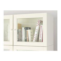 "BILLY / OXBERG Bookcase - white, 78 3/4x93 1/4x11 "" - IKEA"