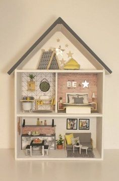 Accessories Sand Table Models Sign Post Wooden Miniature Craft DIY Doll Houses