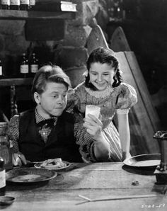 Mickey Rooney, Virginia Weidler– Young Tom Edison