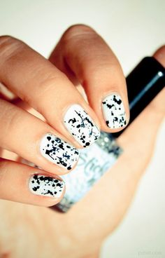 Amazing Nails With Black Combinations...