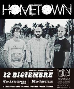 Hometown en Café Cultural Auriense, Ourense música music concerto concierto