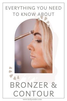 Are you confused by Bronzer and Contour and not sure when to use each one? Check out this free post breaking down the two makeup products and what to use, when. A total guide to using bronzer and contour in your daily makeup routine to create a minimalistic and natural makeup finish. Everyday Makeup Routine, Daily Beauty Routine, Beauty Routines, Natural Skin, Natural Makeup, Simple Everyday Makeup, The Undertones, Makeup For Moms, How To Apply Blush