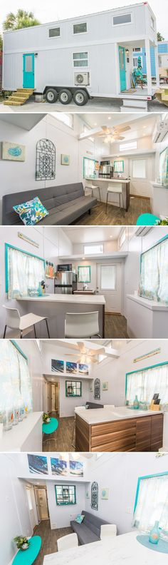 Built for the Tiny Siesta resort in Sarasota, FL, the Sand Dollar is available for nightly rental and puts you within walking distant to Siesta Key Beach!