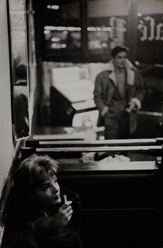 Romy Schneider and Alain Delon, Paris, 1958 — Jesper Høm