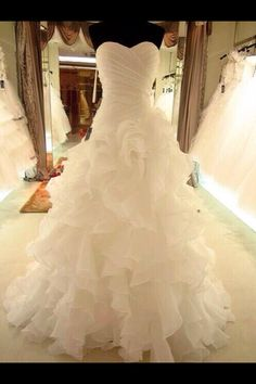My dream dress.