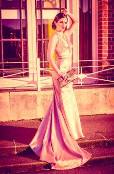 Vintage bespoke wedding dress by ChantelleSophia
