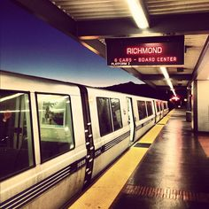 Fremont BART at dawn Bay Area Rapid Transit, San Fransisco, Green Bay, Planes, Dawn, Trains, Platform, Heart, Photos