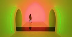 James Turrell, Ganzfeld Double Infinity Room | tatarartprojects.ca #tatarartprojects