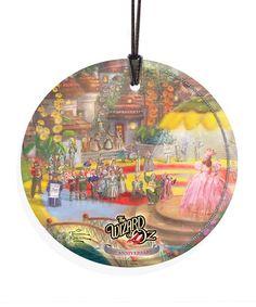 Thomas Kinkade Wizard of Oz Good Witch Ornament #zulily #zulilyfinds