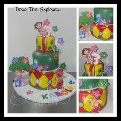 Dora the explorer cake Bizcocho de Dora la Exploradora