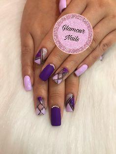 Glamour Nails, Coffin Nails, Manicure, Nail Designs, Nail Art, Beauty, Work Nails, Polish Nails, Short Nail Manicure