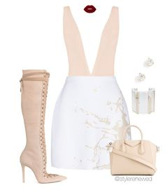 """Untitled #571"" by sherristylz on Polyvore featuring Miu Miu, Zimmermann, Givenchy and Zoë Chicco"