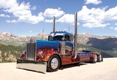 Custom Big Trucks | Custom Lowered Cab Over Kenworth 1954 Custom Day Cab Kenworth