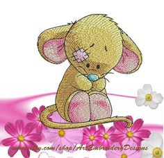 """Mouse - Machine Embroidery Designs Set for a Babies and Children of a series """"Old Toy"""""""
