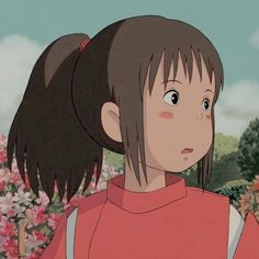 (Sub)Conscious // Part 21 by vyndicate_ Studio Ghibli Art, Studio Ghibli Movies, Old Anime, Anime Art, Chihiro Y Haku, Studio Ghibli Spirited Away, Japon Illustration, Cartoon Icons, Girl Cartoon