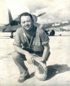 Col Greg 'Pappy' Boyington of VMF214, Black Sheep Squadron