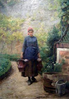 The Garden (Louis-Emile Adan, c. 1890)