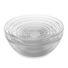 This Tempered Glass Nesting Mixing and Prep Bowl Set includes a full range of sizes - ten in all - so it's perfect for all of your mixing, serving, and prepping needs. Plus, the bowls stack so they won't take up much of your storage space.