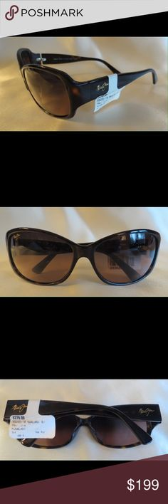 NWT Polarized Maui Jim Malani Sharp Sunnies NWT Maui Jim Malani Sunnies MJ295-10 16/16-126  Frame Color: Tortoise    Lens Color: Dark Rose Polarized  NEW with tags, they are PERFECT Flawless NEW. It's just reflections that might make they look like there are issues, they are again Perfect! All of my items are Guaranteed 100% Genuine I do not sell FAKES of any kind!  No Trades  (05IS)   $279 Maui Jim Accessories Sunglasses