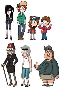 Gravity Falls R63 by TheCheeseburger