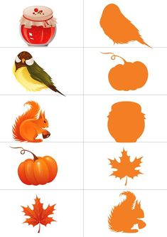 Nature Activities, Preschool Learning Activities, Kindergarten Crafts, Daycare Crafts, Free Preschool, Homeschool Worksheets, Kids Things To Do, Color Crafts, Autumn Theme