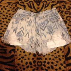 High wasted shorts Very cute and comfortable just don't fit me anymore  3.1 Phillip Lim for Target Shorts Jean Shorts