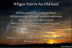 Im an old soul!