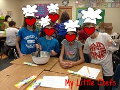 Cooking with Science!  Bring physical and chemical changes out of the kitchen and into your classroom!