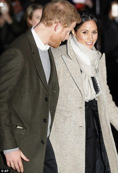 The couple leave after their visit to the radio station
