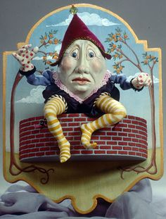 humpty dumpty | humpty dumpty afraid to fall knows his doom is upon him you can see it ...