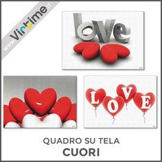 "Quadro su tela, 6 immagini ""CUORI"" assortite. Confezione: Termoretratta ""Virtime"" Dimensioni: 50 x 70 cm Ref.: S33952/15  #Virtime #VirtimeClock #VirtimeHome #Quadrisutela #frame #Italy #italianfurniture #milan #buyfurniture #design #homedecor #tools #interiordesign #home #house #creative #furnituredesign #homeart #colorful #detail #homedecoration #decoration #designideas #nofilter #unique #furniture #wood #materials #nature #decorating #instadecor #designinspirations"