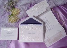 Wedding Invitations by Social Graces, LLC  Invitation100 invitations for $164.90. We will help you word it and spend as much time with you as needed. Social Graces, LLC 973-543-2145
