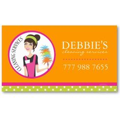 Cleaning Services Bubbles Business Card House Cleaning Business