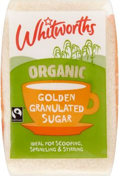 Billingtons Organic Golden granulated Fairtrade sugar Organic Sugar, Natural Sugar, Water Kefir, Ginger Beer, Kombucha, Fair Trade, Vegan Vegetarian, Brewing, Snack Recipes