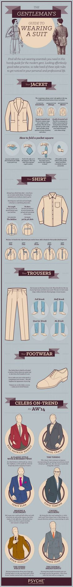 Look stylish with this suit wearing guide